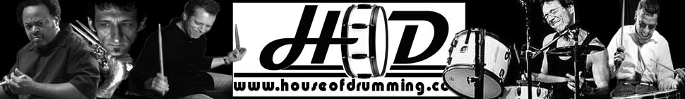 House of Drumming.com header image 1